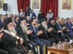 Regent attends Christmas celebration at Jerash monastery