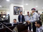 Crown Prince visits Civil Defence Directorate
