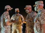 Deputising for King, Crown Prince attends tactical aviation courses graduation, night military drill