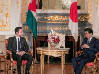 Crown Prince meets Japanese PM in Tokyo