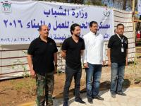 ولي العهد يطلع على التجربة الريادية الشبابية لمعسكرات الحسين للعمل والبناء