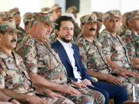 Crown Prince attends military drill