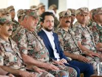 سمو ولي العهد يتابع تمرينا عسكريا في كتيبة جعفر بن أبي طالب الآلية/39