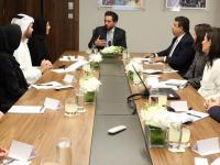 ولي العهد يستقبل وزيرة الدولة لشؤون الشباب الإماراتية