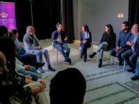 Crown Prince visits Royal Film Commission – Jordan, calls for investing in Jordanian filmmaking talents