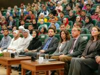 """Crown Prince attends youth debate on """"University Education vs. Vocational and Technical Education"""""""