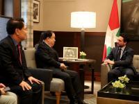مندوبا عن الملك، ولي العهد يستقبل رئيس الجمعية الوطنية بكوريا الجنوبية