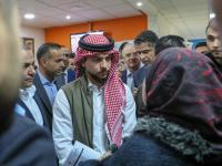 ولي العهد يقوم بزيارة مفاجئة لمديرية تشغيل عمان الأولى