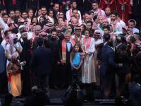 King attends youth celebration marking 20th anniversary of Accession to Throne