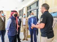 Crown Prince inaugurates Great Arab Revolt Square project in Aqaba
