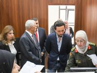 Crown Prince visits Citizen Services Department at Royal Hashemite Court