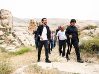 ولي العهد يزور قرية وقلعة السلع في الطفيلة للاطلاع على خطط  تطوير وترويج الموقع الأثري