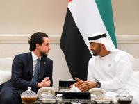 Crown Prince meets with Abu Dhabi Crown Prince