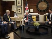 King meets EU commissioner for European neighbourhood policy and enlargement negotiations