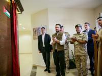 مندوبا عن الملك، ولي العهد يفتتح مدينة سمو الشيخ محمد بن زايد آل نهيان التدريبية بالزرقاء التابعة للقوات المسلحة الأردنية