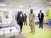 """ولي العهد يفتتح مستشفى معان الميداني المخصص لـ""""كورونا"""""""