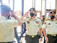 Deputising for King, Crown Prince attends graduation at Royal Jordanian Command and Staff College