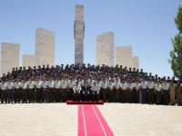 Regent attends Royal Jordanian Command and Staff College graduation