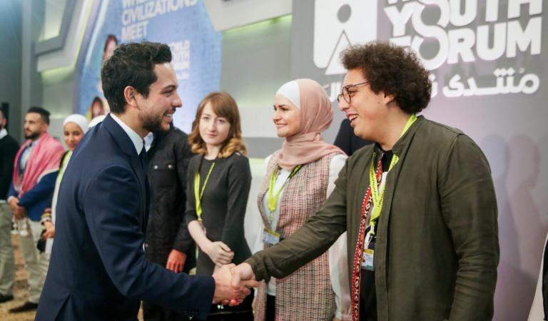 مندوبا عن الملك، ولي العهد يحضر افتتاح منتدى شباب العالم بنسخته الثالثة في شرم الشيخ