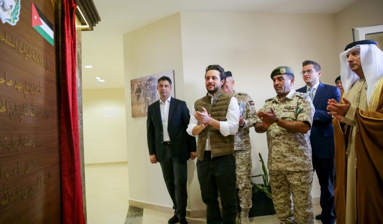 Deputising for King, Crown Prince inaugurates JAF's Sheikh Mohamed bin Zayed Al Nahyan Training City in Zarqa