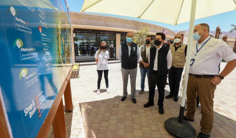 Crown Prince visits Saraya Aqaba investment project