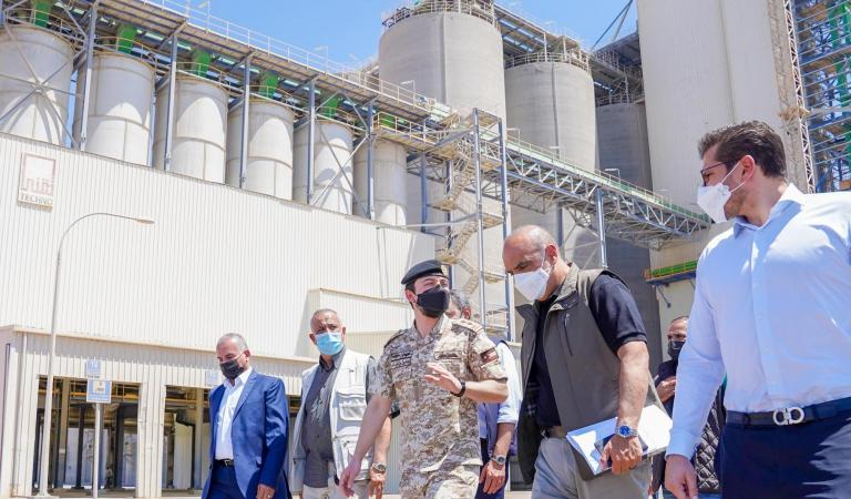 Crown Prince inaugurates second phase of Aqaba grain silos expansion project