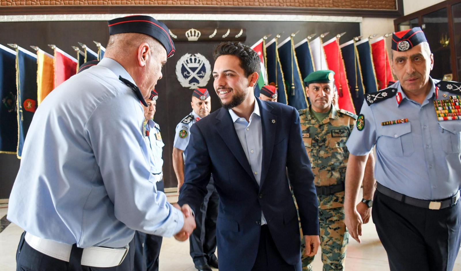 Crown Prince visits PSD to follow up on His Majesty's directives on road traffic safety