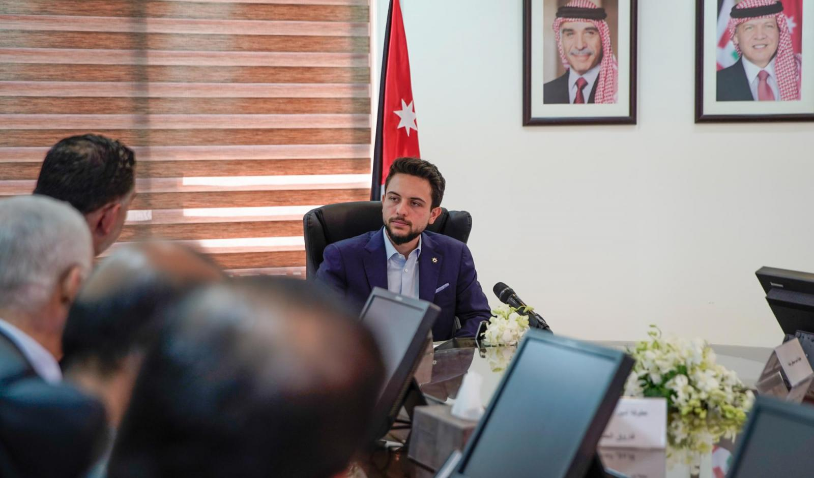 Crown Prince visits labour ministry, says His Majesty's directives call for impactful employment plans