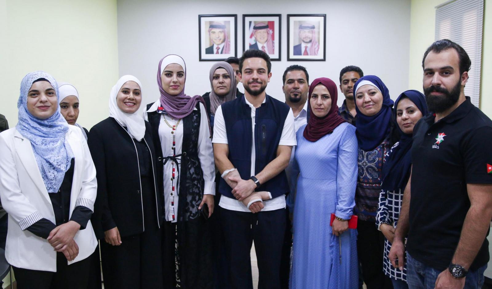ولي العهد يفتتح مركز شباب ذيبان بعد تحديثه لتلبية احتياجات ومتطلبات الشباب