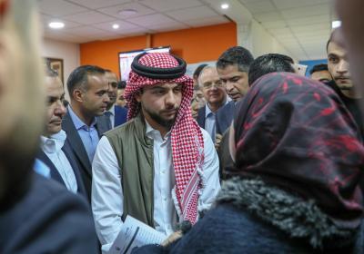 Crown Prince pays surprise visit to Amman Employment Directorate
