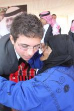 سمو الأمير الحسين بن عبدالله الثاني، ولي العهد، يزور البادية الشمالية-2012