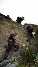 سمو الأمير الحسين بن عبدالله الثاني، ولي العهد، يشارك في تمرين عسكري لتسلق الجبال ـ 2013