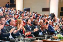 HRH Crown Prince Al Hussein Bin Abdullah II at the opening of the Global Forum on Youth, Peace and Security