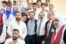 His Royal Highness Crown Prince Al Hussein bin Abdullah II visits Creativity Club – Karak