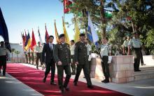 جلالة الملك عبدالله الثاني وسمو الأمير الحسين، ولي العهد، يحضران الاحتفال بعيد الجيش وذكرى الثورة العربية الكبرى
