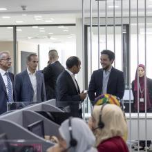 سمو الأمير الحسين بن عبدالله الثاني، ولي العهد، يزور مجموعة لومينوس للتعليم