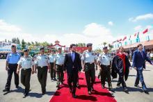 مندوبا عن جلالة القائد الأعلى، ولي العهد يرعى حفل تخريج الفوج الثامن والعشرين من تلاميذ الجناح العسكري في جامعة مؤتة