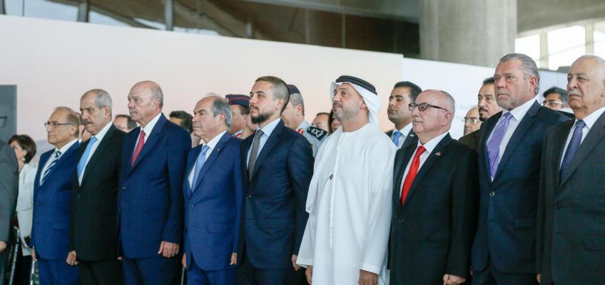 ولي العهد يرعى افتتاح المرحلة الثانية من مبنى المسافرين لمطار الملكة علياء