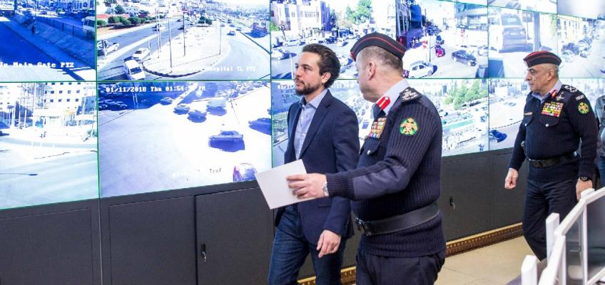 ولي العهد يزور مديرية الأمن العام