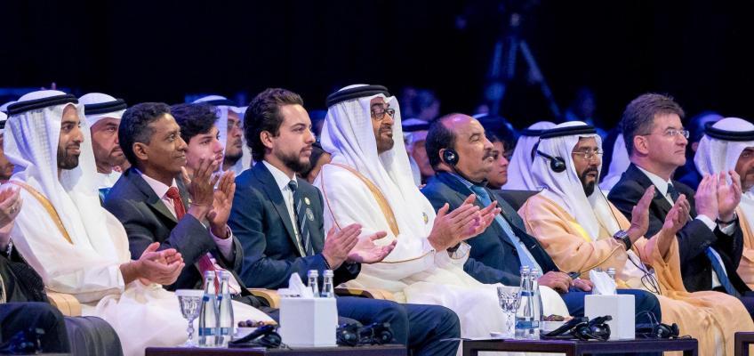 ولي العهد يحضر افتتاح القمة العالمية لطاقة المستقبل ضمن أسبوع أبوظبي للاستدامة