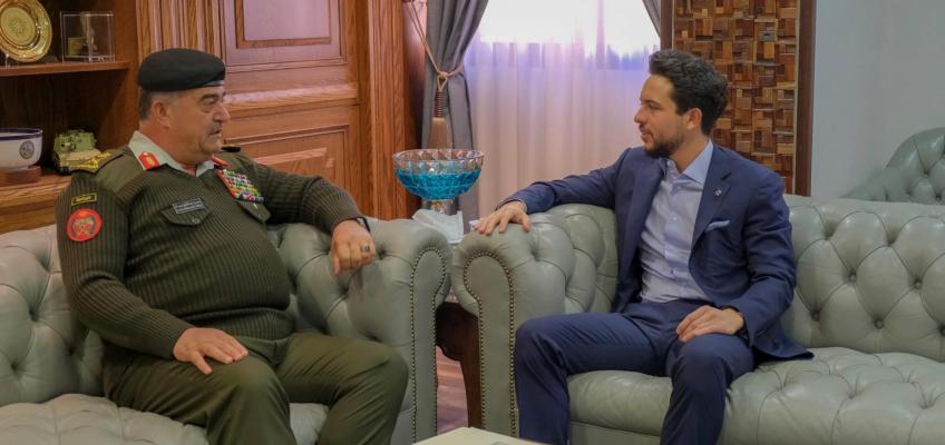 Regent visits JAF General Command