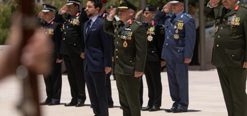الملك يرعى احتفال القوات المسلحة بعيد الجلوس الملكي وذكرى الثورة العربية الكبرى ويوم الجيش