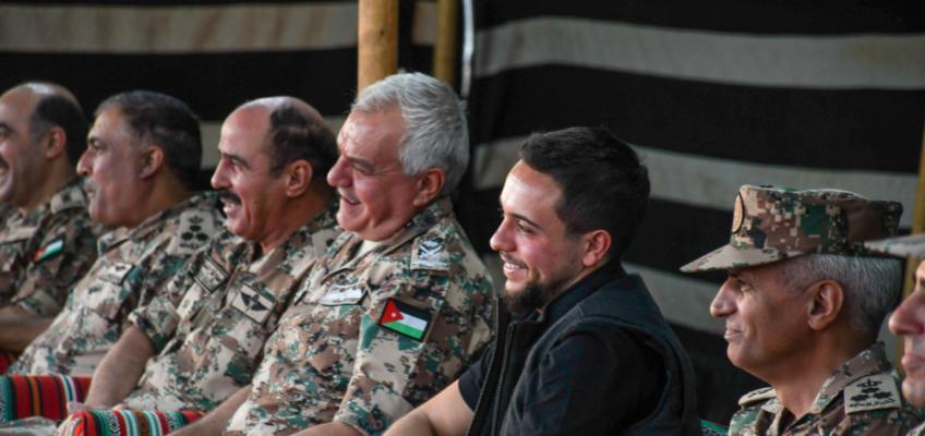 ولي العهد يحضر احتفال قيـــادة المنطقة العسكرية الوسطى بمناسبة العيد الـ 24 لميلاده
