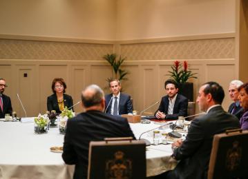 """ولي العهد يترأس الاجتماع الأول لمجلس أمناء""""مؤسسة ولي العهد"""""""